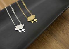 Image of 'NUAGE DE PLUIE' necklace