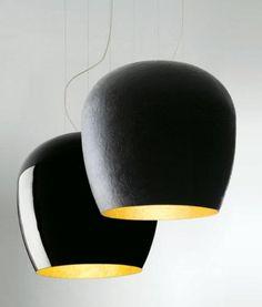 Lucente Handmade suspension or floor lamp made from fibreglass
