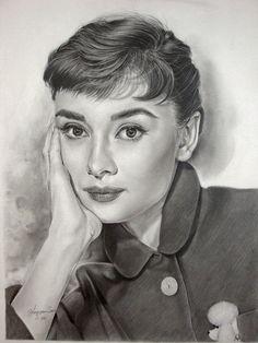 audrey hepburn | Audrey Hepburn - series 7th by ~Hongmin on deviantART