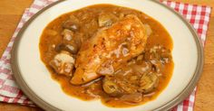 Stay Warm And Toasty With This Rustic, French Chicken Dish!- this can be healthy with some tweaking!!!