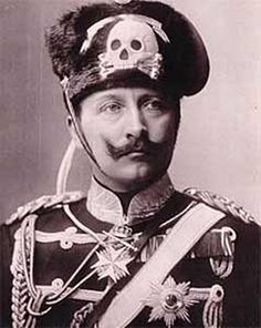 Kaiser Wilhelm II (1859–1941). Reigned from 1888 to 1918.