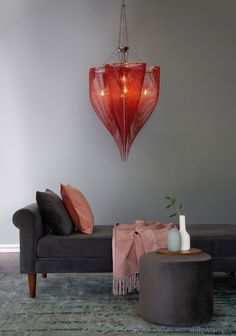 Our four-leaf clover design translates into a voluptuous and sensual heart-shaped pendant lamp, one of three distinctive pieces in the Love Clover collection. View the rest of the range via the link in our bio. Luxury Lighting, Lighting Design, Lighting Ideas, Contemporary Chandelier, Mini Chandelier, Interior Decorating, Interior Design, Higher Design, Bespoke Design