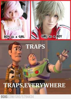 Cosplay, anime....It's a Trap! XD
