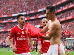 Jonas: «Portugal é maravilhoso e o Benfica então nem se fala» Portugal, Real Madrid, Football, Sports, Grande, Training, Canoeing, Volleyball, Pistols