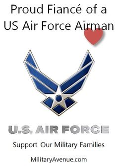 Proud Fiance of a US Air Force Airman - Originally created for http://www.facebook.com/MilitaryAvenue but yours to share