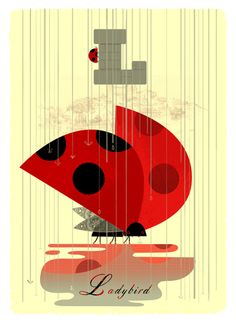 L(adybird) by Alphamal Prints