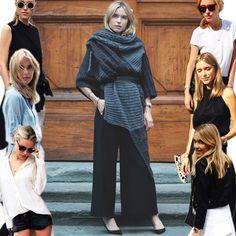 A blogueira Pernille Teisbaek veste sobreposição de peças e adora roupas mais soltas