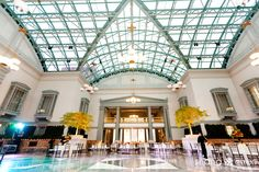 Nina and Ryan, Married! | Indian American Wedding at the Chicago Public Library Harold Washington Center