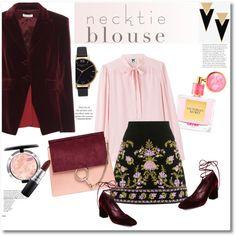 A fashion look from September 2016 by vkmd featuring M Missoni, Altuzarra, Stuart Weitzman, Chloé, Yves Saint Laurent, Olivia Burton, MAC Cosmetics, Victoria's...