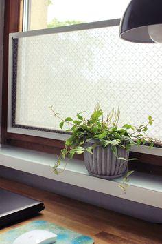 DIY dekorativer Sichtschutz Rahmen, DIY
