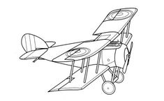 vintage airplane coloring pages - Printable Kids Colouring Pages ...