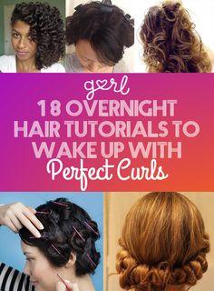 18 Overnight Hair Tu
