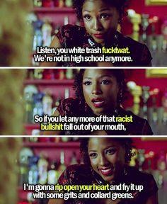 True Blood. Tara Thornton quote. True Blood season 5. Vampire Tara at Fangtasia.