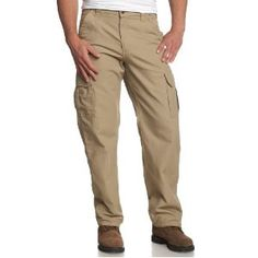 Carhartt Men's Canvas Cargo Pant, Golden Khaki