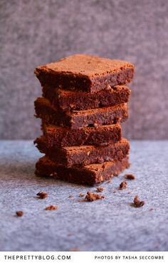 I dream about chocolate brownies at night. They are some of my favourite indulgent treats, my go-to decadence, my secret