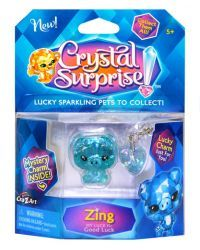 Crystal Surprise Pets by #CraZArt give you luck! Each have their own story, and #luck to share.  Meet Glitzy, whose luck is Good Luck! #CrystalSurprise #GoodLuck