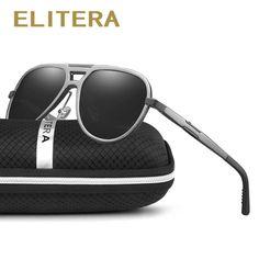 47c3193ba1 ELITERA Sunglasses For Unisex Aluminum Magnesium Frame Polarized Goggles  UV400 Polarized Sunglasses, Oakley Sunglasses,. Fashion Women Sunglasses,  Men ...
