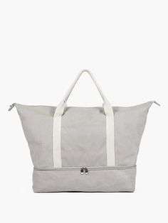 ---  |||  ---   RECEIVED    ---  |||  ---   The Catalina - Canvas Weekender - Designed by Lo & Sons #loandsons || dove grey or thistle