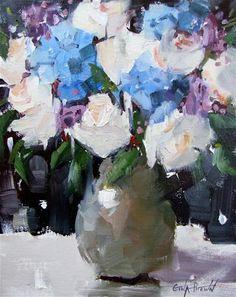 """Amandas Bouquet"" - Original Fine Art for Sale - © Gina Brown"