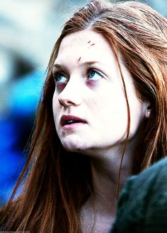 """Photo of ginny for fans of Ginevra """"Ginny"""" Weasley 32179264 Gina Harry Potter, Harry Potter Friends, Harry And Ginny, Harry Potter Characters, Harry Potter World, Bonnie Francesca Wright, Bonnie Wright, Ginny Weasly, 2 Movie"""