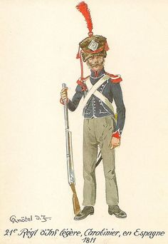Infantería Ligera 21º 1811 Carabiner in Spain