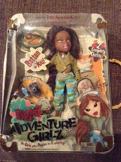 Bratz Adventure Girlz Stylin Safari 2 Outfits Accessories New but Damaged Box #Bratz