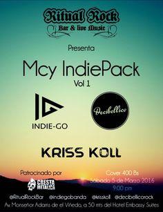 "Ritual Rock Bar presenta: ""Mcy IndiePack Vol.1"" http://crestametalica.com/events/ritual-rock-bar-presenta-mcy-indiepack-vol-1/ vía @crestametalica"