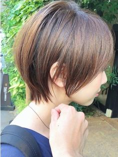 Pin on 髪型 Pin on 髪型 Short Hair With Layers, Short Hair Cuts, Japanese Haircut, Belle Hairstyle, Asian Short Hair, Gorgeous Hair Color, Shot Hair Styles, Hair Arrange, Haircut And Color