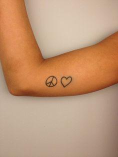 Símbo da Paz e amor!