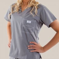 Blue Sky Scrubs introduces a new level of modern sophistication with a preppy chic design. Scrub Shoes, Medical Uniforms, Nursing Uniforms, Nursing Career, Medical Scrubs, Nursing Scrubs, Nursing Clothes, Cute Scrubs, Scrubs Outfit
