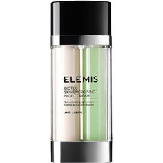 Elemis BIOTEC Skin Energising Night Cream 1 oz (30 ml) (1320 MAD) ❤ liked on Polyvore featuring beauty products, skincare, face care, face moisturizers and elemis