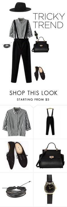 """Stripes"" by asterrria ❤ liked on Polyvore featuring Relaxfeel, WithChic, Wet Seal, Gabriella Rocha, Zodaca, Monki, TrickyTrend and overalls"