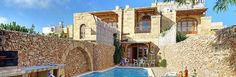 Razzett Ta Salvu , Gozo, This recently converted farmhouse oozes character with traditional decor and stone arched ceilings to add to the rustic charm. Located in the Xaghra area which is famous for its prehistoric sites and has shops and restaurants within walking distance.  http://www.solmarvillas.com/Villas/3/Razzett%20Ta%20Salvu/False/default.aspx