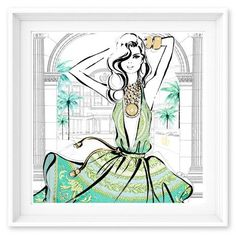 Limited Edition: Versace - Mint Palazzo