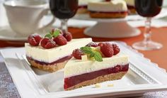 Nepečená dobrota krok za krokom: Malinová torta s mascarpone - Pluska. Ice Cream Candy, Cheesecakes, Cake Cookies, No Bake Cake, Health, Food, Anna, Cooking, Mascarpone