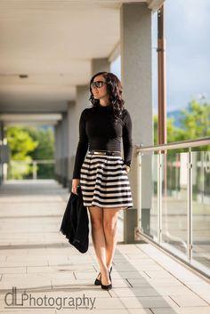 Skirt 'n' stripes : ready for everything http://juliesdresscode.de