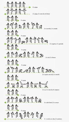 Basic movements of capoeira - 4