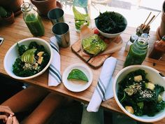 """WEBSTA @tringsby """"I'll get the best kale salad with a side of kale chips please"""""""