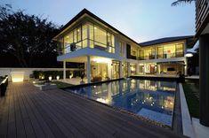 Baan Citta in Bangkok, Thailand by THE XSS : Fresh Palace