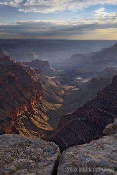 Depth and Distance by Mark Capurso, via 500px; Grand Canyon from Cape Royal, Arizona