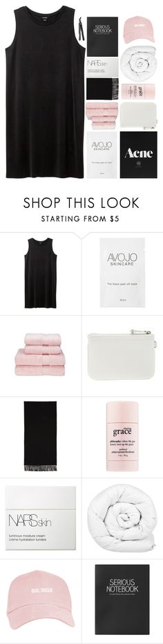 """""""// • K A I R O S • \\"""" by readng ❤ liked on Polyvore featuring Monki, Christy, Nine West, Acne Studios, philosophy, NARS Cosmetics, Brinkhaus, Topshop and Lorion"""