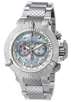 Invicta 4568 Watches,Men's Subaqua Chronograph Stainless Steel, Chronograph Invicta Automatic Watches