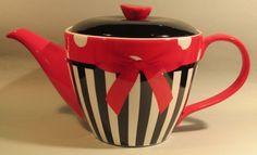Details about Jameson & Tailor Ceramic 6 Cup Teapot Tea pot, in 3 Retro Designs Tea Cozy, Teapots And Cups, Cool Kitchens, Tea Time, Tea Party, Kitchen Decor, Retro, Tableware, Kettles