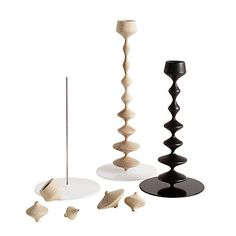 The talented French designer FX Balléry has recently created an interactive set of candle holders...