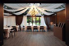 Veranda in Sintesy Touch dell'Osteria in Scandiano  #flooring #resilient #pvc