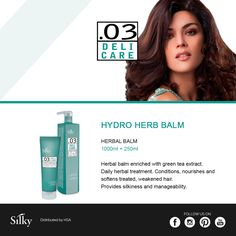 To make your hair more easy to comb and silky, try Hydro Herb Balm / Per capelli più pettinabili e setosi, provate Hydro Herb Balm #hsacosmetics #silkycolor #nouvellecolor #hair #hairstyle #instahair #hairstyles #haircolour #haircolor #haircut #longhairdontcare #braid #fashion #instafashion #straighthair #longhair #style #straight #curly #black #brown #blonde #brunette #hairoftheday #hairideas #braidideas #perfectcurls #hairfashion #coolhair