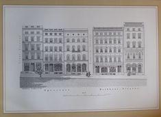 Speersort Rathhaus-Strasse Hamburg 1846-47 - Reprint aus der 80er Jahre Nr. 34