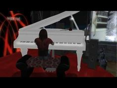 Bluemonk Rau - live at Port mo chalmaig - World AIDS Day 2011 charity concert #SecondLife