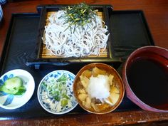 "Pranzo, ""Kurekino"" (Soba-Ristorante), Matsumoto Nagano Japan (Ottobre) Nagano Japan, Coconut Flakes, Grains, Spices, Tableware, Food, Spice, Dinnerware, Dishes"