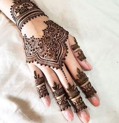 New Eid Special Mehndi Designs _ Easy and Beautiful Mehndi Design Henna Hand Designs, Mehndi Designs Finger, Mehndi Designs For Girls, Mehndi Designs For Fingers, Mehndi Design Images, Best Mehndi Designs, Beautiful Henna Designs, Henna Tattoo Designs, Henna Tattoo Hand